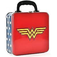 DC Comics - Wonder Woman - Blechkoffer Lunchbox - Logo - beidseitig bedruckt preisvergleich bei kinderzimmerdekopreise.eu