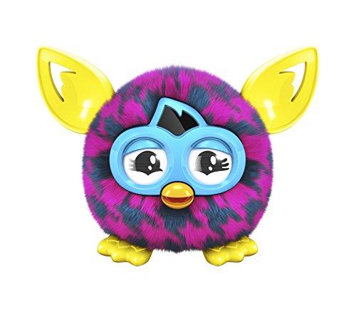 Furby - A74544000 - Interactivo de peluche - Furblings Pied de Poule - rosa / verde