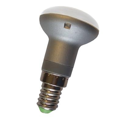 Asuntec Profi-LED-Quality-Longlife Breitstrahler, Form R39; 3Watt; E14, warmweiß-matt-blendungsarm, mit Swiss Quality Check, (Ersatz ca. 40W Glühl.-Strahler) von Asuntec bei Lampenhans.de