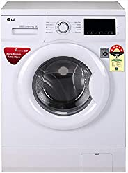 LG 6.0 Kg 5 Star Inverter Fully-Automatic Front Loading Washing Machine (FHM1006ADW, White, Direct Drive Techn