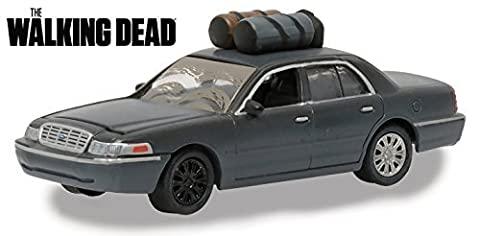 The Governor's 2001 Ford Crown Victoria (Dusty) The Walking Dead TV Series (2010-Current) 1/64 by Greenlight 44740