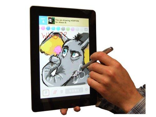 MiTAB Kapazitive Stylus, Touchscreen Smart Phone / Handy / Tablet Stifft für das Odys Space (Ideal für das App Draw Something)