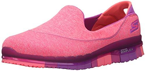 Skechers Damen Slipper Go Flex Stride Pink, Schuhgröße:EUR 38