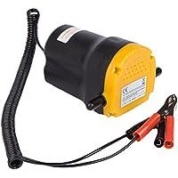 UEETEK 12V Bomba de extractor de aceite, 1L / Min, bomba de aceite Bomba de combustible diesel Motor de cambio de aceite de 60W para automóvil