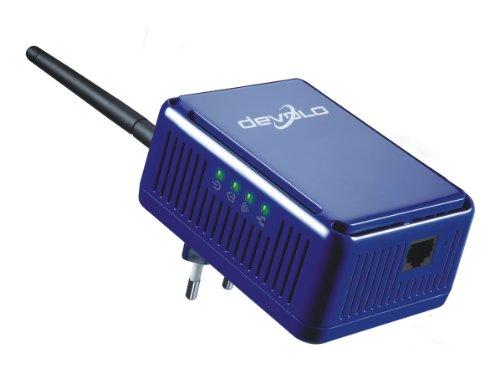 Devolo dLAN HS Wireless Extender 85 Mbit blau