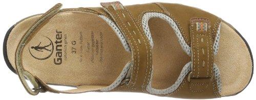 Ganter  Glady, Weite G, Sandales pour femme Multicolore - Mehrfarbig (camel/beige 1117)