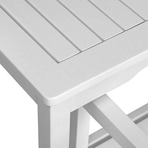 4-teilige Gartengarnitur Gartentisch 150x90cm + 3-Sitzer Gartenbank Sitzbank + 2x Gartensessel aus FSC zertifiziertem Eukalyptusholz Sitzgruppe Sitzgarnitur - 3