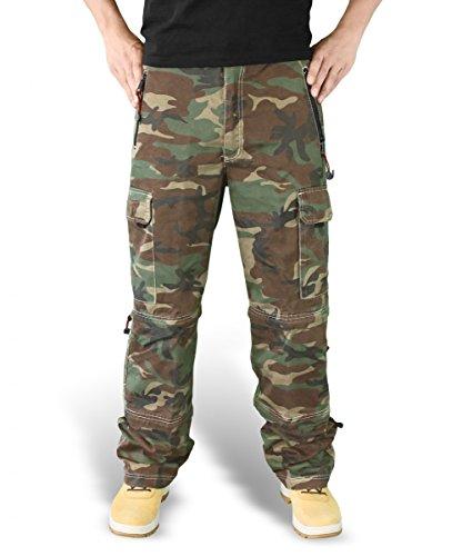 Surplus - Pantaloni, cargo, uomo Multicolore (Mehrfarbig)
