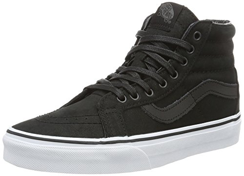vans-unisex-adults-authentic-low-top-sneakers-black-premium-leather-uk-6-eu-39