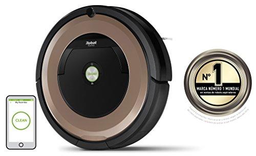 iRobot Roomba 895 Robot aspirador rendimiento de limpieza avanzado con sensores de suciedad Dirt Detect para todo tipo de suelos y adecuado para el pelo de mascotas conexión WiFi