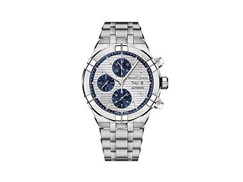 Reloj Automático Maurice Lacroix Aikon Chronograph, Plata, Brazalete de acero