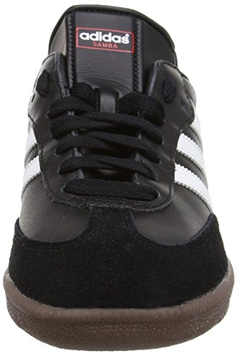 adidas Originals Samba, Baskets mode homme,  Blanc/Noir/Gomme Noir (Black/Running White Footwear 0)