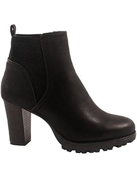 Elara Ankle Boots | Trendige Damen Stiefeletten | Blockabsatz Plateau | Chunkyrayan