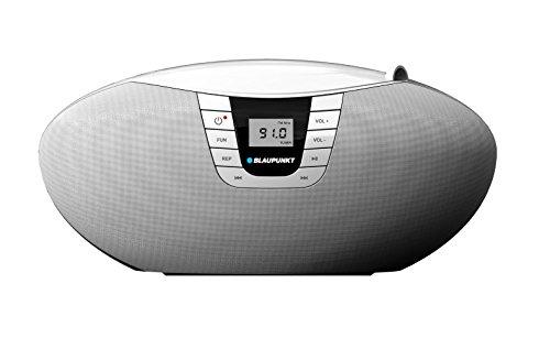 Blaupunkt BB11WH Boombox mit Radio/CD/MP3-Player (LCD-Display, USB)