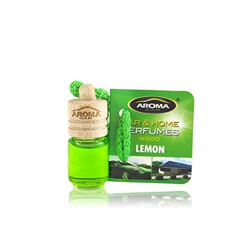 Aroma Car Deodorante, profumo Mini bottiglia legno Senteur Limone prodotto in Francia.