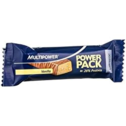 Multipower - Barrita 27% de proteína power pack - chocolate y vanilla