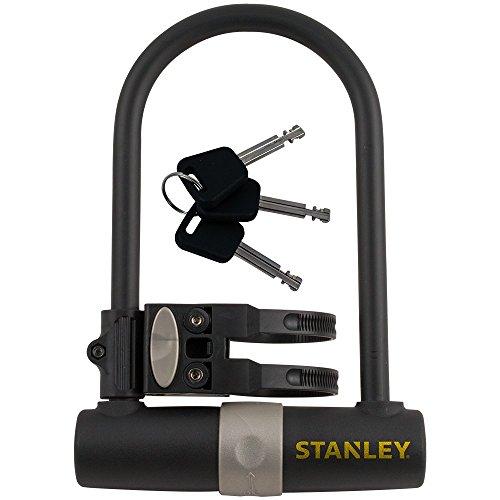 Stanley 81301385111 Cadenas Bikelocks U-Shape Noir/Anthracite 247 x 14 mm