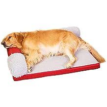 Cama ortopédica para Mascotas, para Perros pequeños y medianos, extraíble y Lavable, Cama