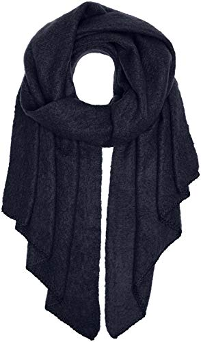 PIECES Damen Schal PCPYRON Long Scarf NOOS, Blau (Navy Blazer), One Size