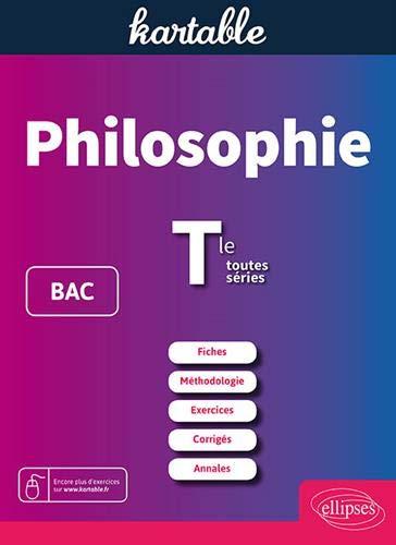 Philosophie Bac et Tle toutes séries