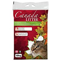 Canada Litter 18 kg Scoopable Clumping Unscented Cat Litter