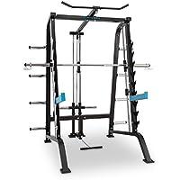 CAPITAL SPORTS Squatster Jaula de sentadillas multifunción (barra de pesas, entrenamiento halterofilia, 9