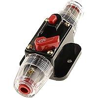 FLAMEER 12V DC 20A-100A AMP Car Audio Reposicionable En Línea Interruptor Del Fusible Del Portafusibles - 60a
