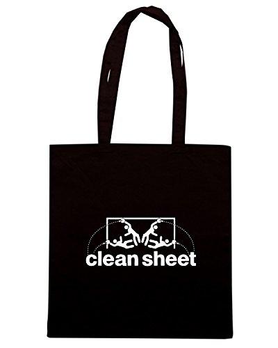 T-Shirtshock - Borsa Shopping WC0259 CLEAN SHEET T-SHIRT Nero