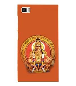 printtech Lord Murugan South India Back Case Cover for Xiaomi Redmi Mi3::Xiaomi Mi 3