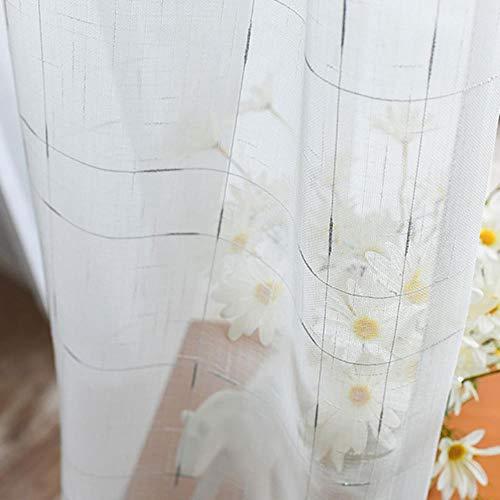 Cortinas modernas de tul de lino para la sala de estar del dormitorio La cocina...