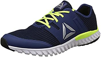 Reebok Men's Blue/NEON Yellow Running Shoes-7 UK, 40.5 EU(CN4451)