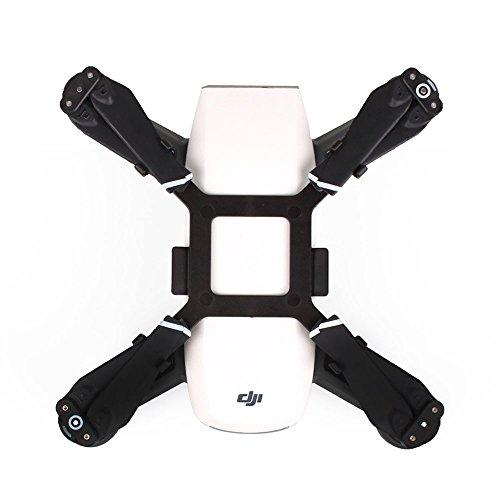 Kingwon Soporte Estabilizador de Hélice Propeller Protector Estabilizador para Drone DJI Spark Transporte Protección (Black)