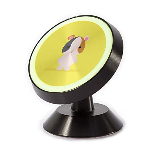 rung magnetisch, niedliches Cartoon-Hamster, universelle Auto-Halterung, um 360 Grad drehbar, passt auf Armaturenbrett, kompatibel mit Allen Smartphone-Geräten ()