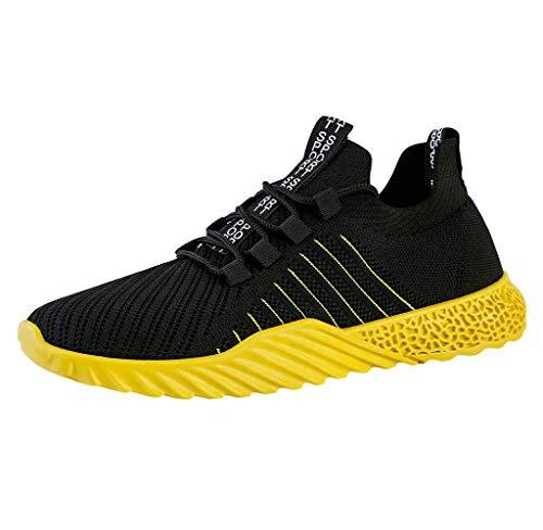 Jimmackey Uomo Scarpe da Ginnastica Corsa Sportive Running Fitness Traspirante Sneakers