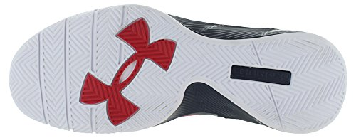 Under Armour Clutchfit Drive 2 noir, chaussures de basketball homme Mdn/Red/Mgo