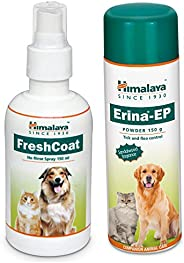 Himalaya Combo of Fresh Coat, 150 ml & Erina Ep Powder, 150g