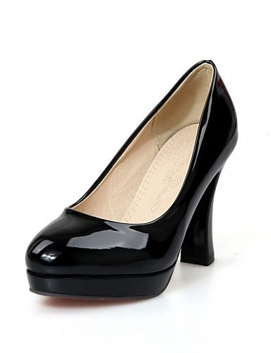 GS~LY Da donna-Tacchi-Matrimonio / Ufficio e lavoro / Serata e festa / Formale / Casual-Tacchi / Innovativo / Punta arrotondata-A stiletto- black-us6.5 / eu38 / uk5 big kids
