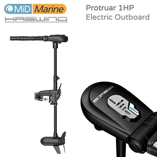 Haswing Protruar 1HP Elektrische Außenborder 12V mit Digimax Controller