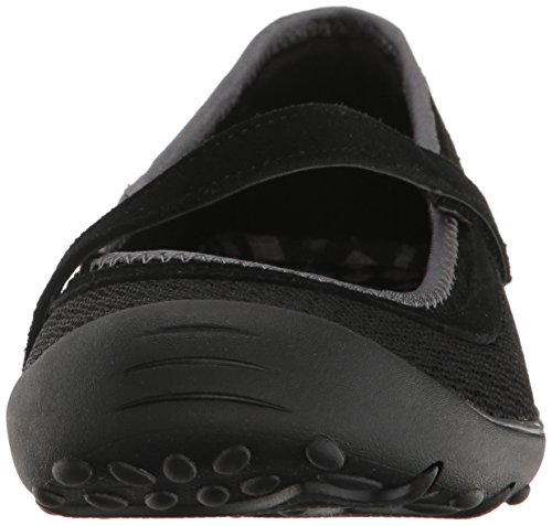 Skechers Earth Fest- Outside Femmes Toile Mary Janes Black