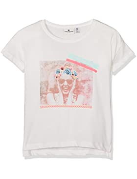 TOM TAILOR Kids Mädchen T-Shirt Boxy Tee with Print