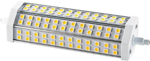 Luminea R7S Energiesparlampe: LED-SMD-Lampe m. 72 High-Power-LEDs R7S 189mm, 6000 K,1400lm (LED-Leuchtmittel R7S)