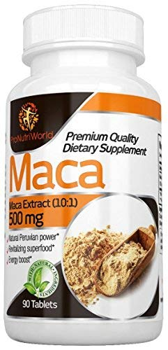 Maca compresse | 500mg di ProNutriWorld | Supporta la vitalità e la fertilità