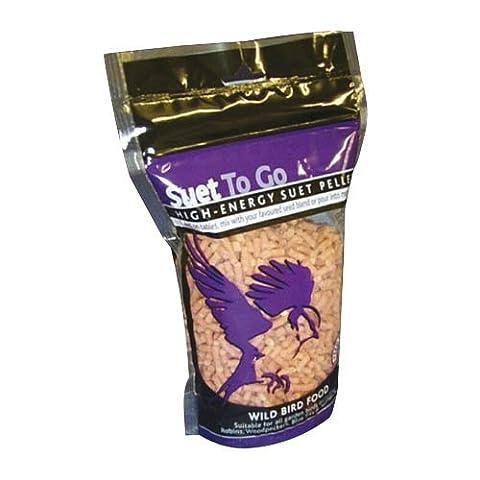 Unipet Suet To Go Bird Food Pellets 550g (Flavour: Berry)