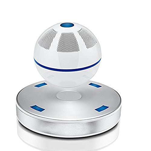 Myoyo Bluetooth Wireless Lautsprecher Subwoofer Wiederaufladbare Tragbare Lautsprecher Sound Box,White