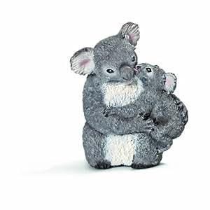 Schleich 14677 - Koalabärin mit Jungem