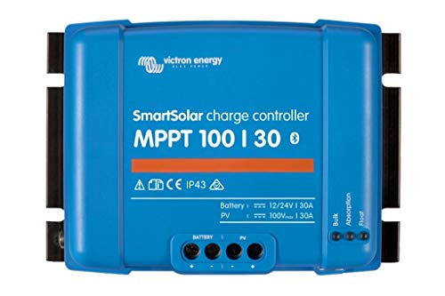 Victron SmartSolar MPPT Laderegler 100/30 12V / 24V Bluetooth Dongle integriert SCC110030210 30A Solarladeregler