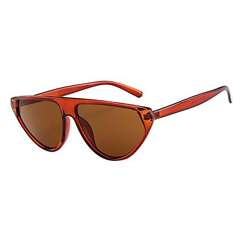 Skang Damen Mode Katzenaugen Sonnenbrille UV Cat Eye Sunglasses Frauen Vintage Brille Eyewear Travel Sonnenbrillen(Einheitsgröße,G)