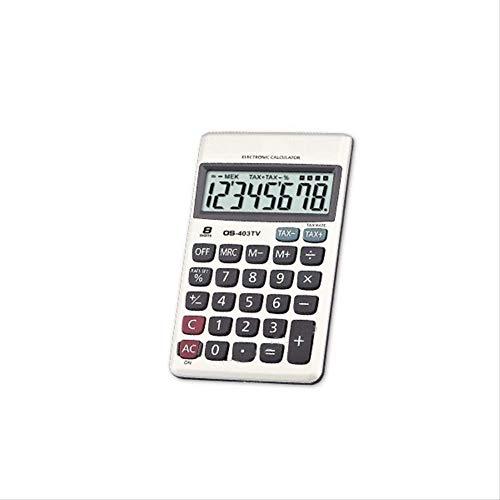 LMDZSW Mini Taschenrechner 8 Ziffern Handheld Student Schreibwaren Büro Schule Werkzeug Marke -