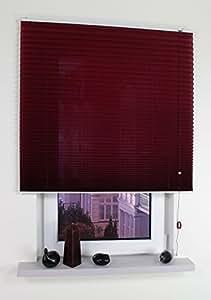 liedeco klemmfix plissee freih ngend inkl halterungen zur wand oder deckenmontage. Black Bedroom Furniture Sets. Home Design Ideas