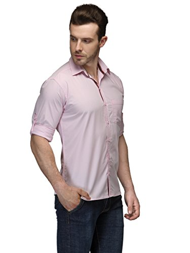 TSX Men's Roll Up Sleeves Casual Shirt 2
